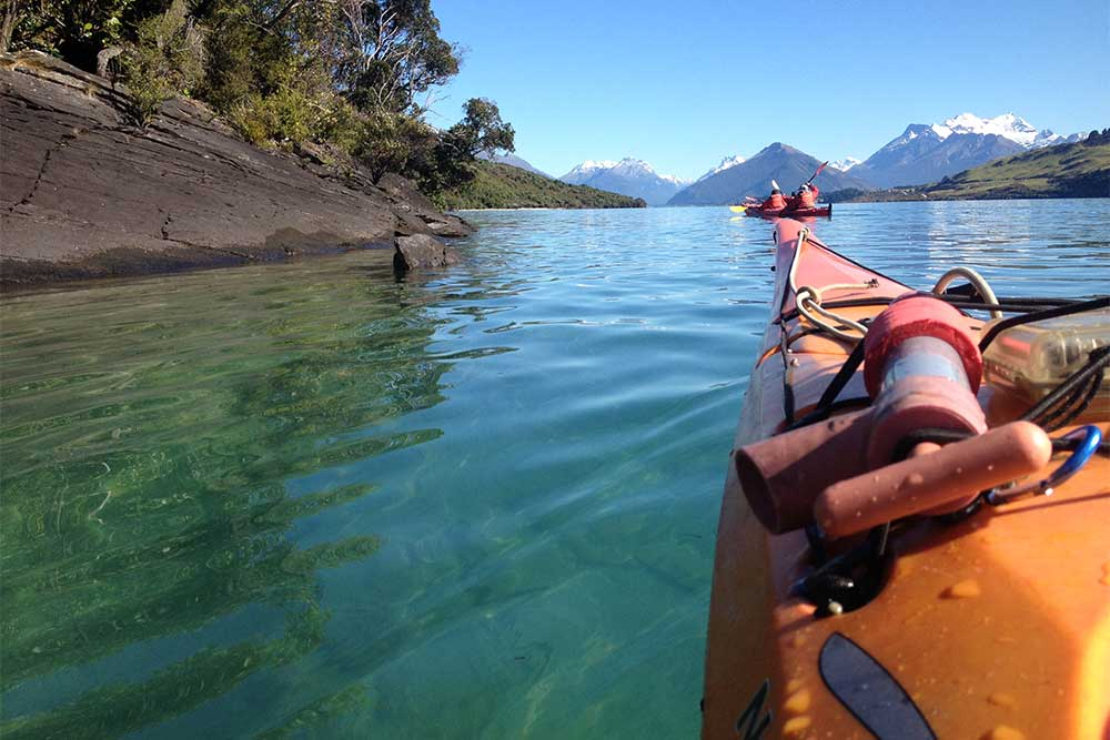 Paddle to the Glenorchy Islands.