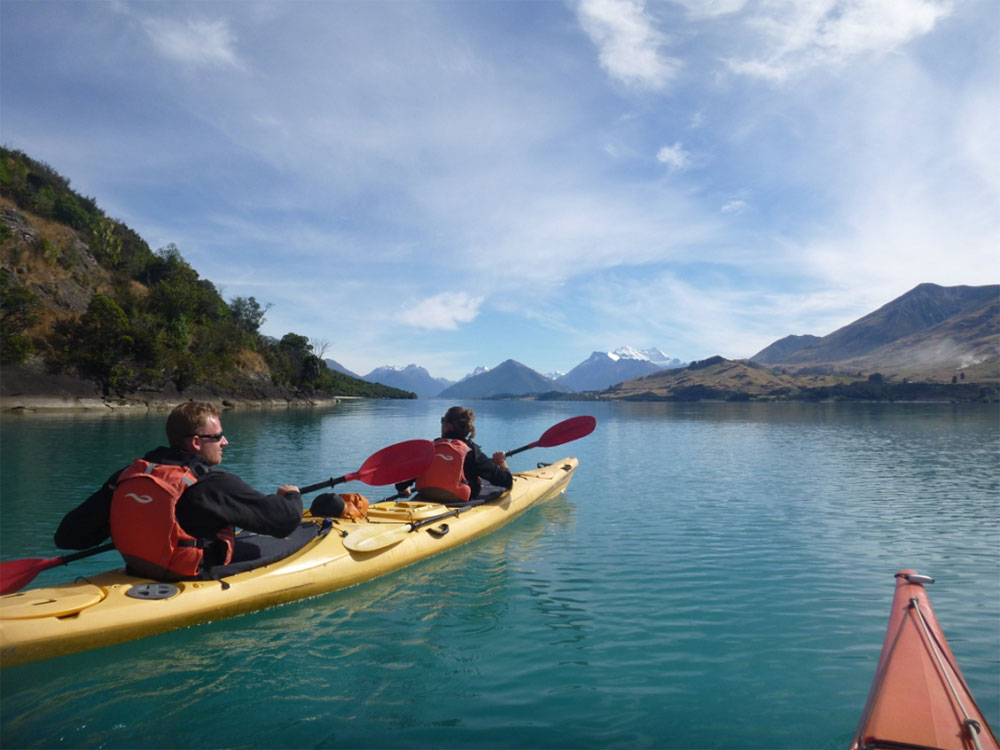 Guided kayaking Safari